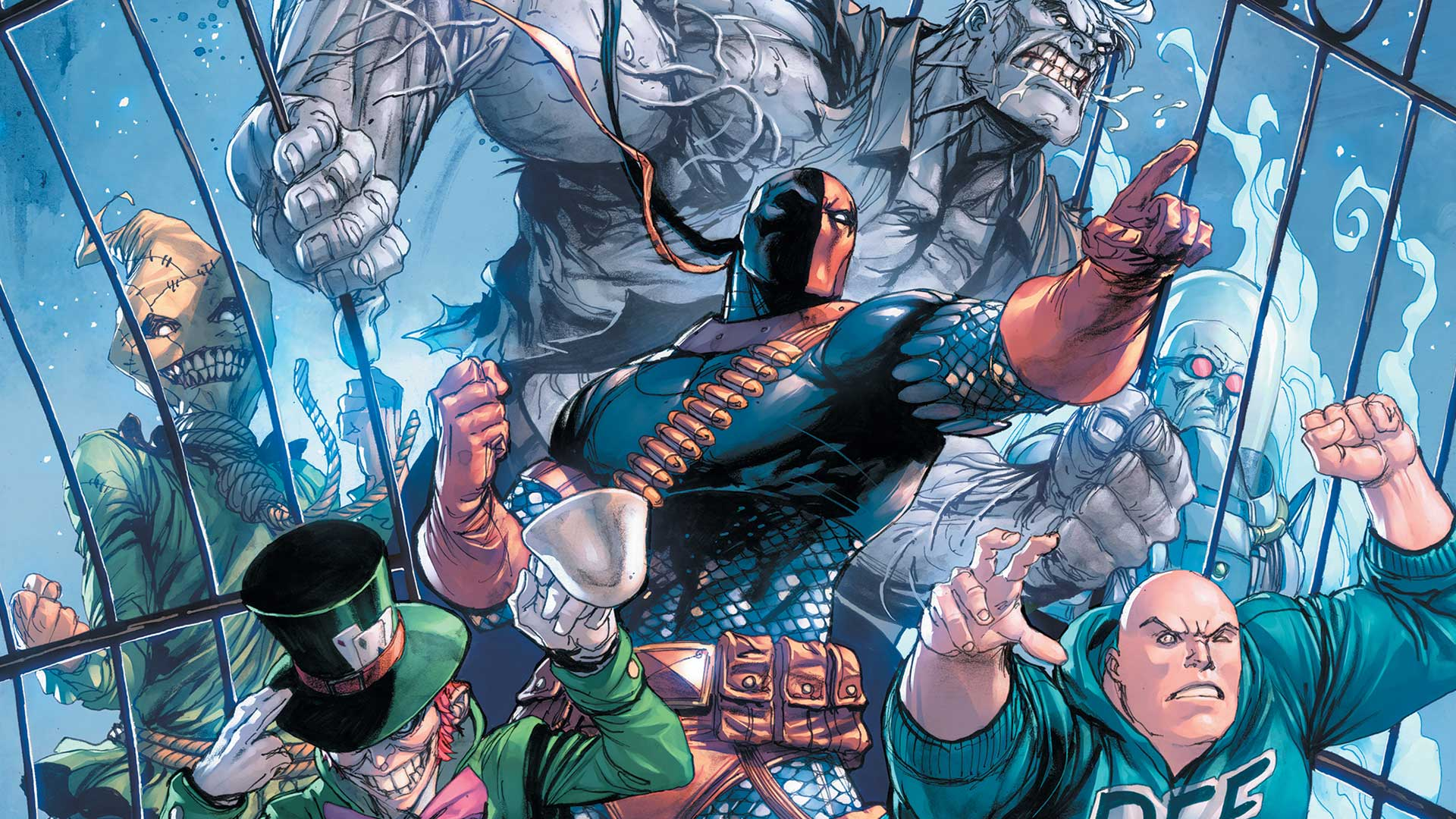 """An excellent conclusion to """"Deathstroke: Arkham."""""""