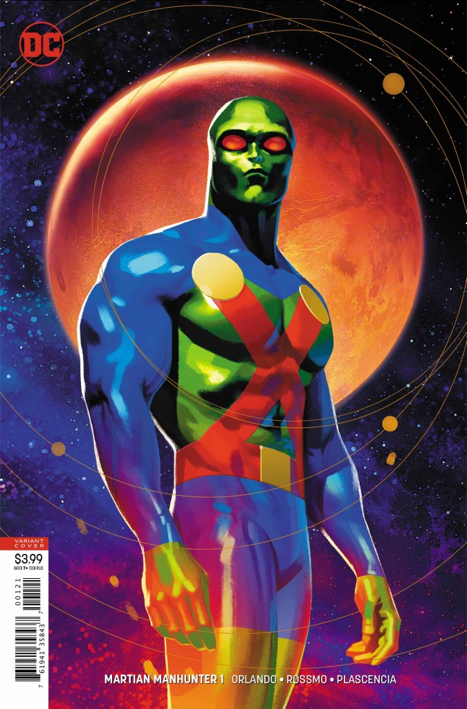 In a lengthy career, J'Onn J'Onzz has served as the heart of the DC universe.