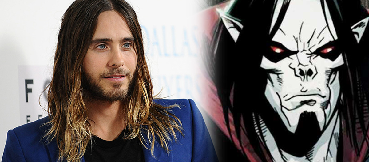 Jared Leto teases start of filming for 'Morbius'