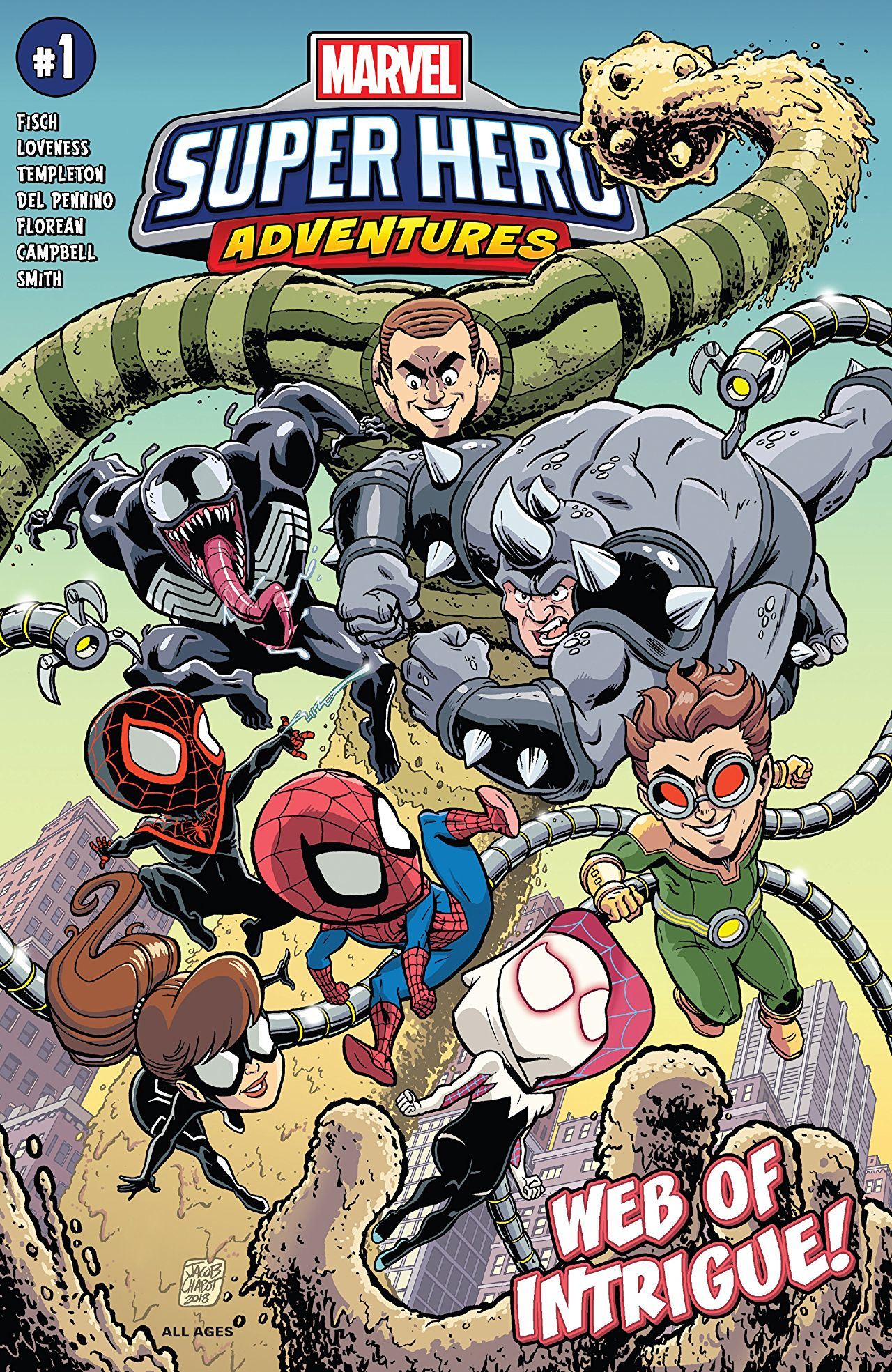 Marvel Preview: Marvel Super Hero Adventures: Spider-Man - Web Of Intrigue (2019) #1