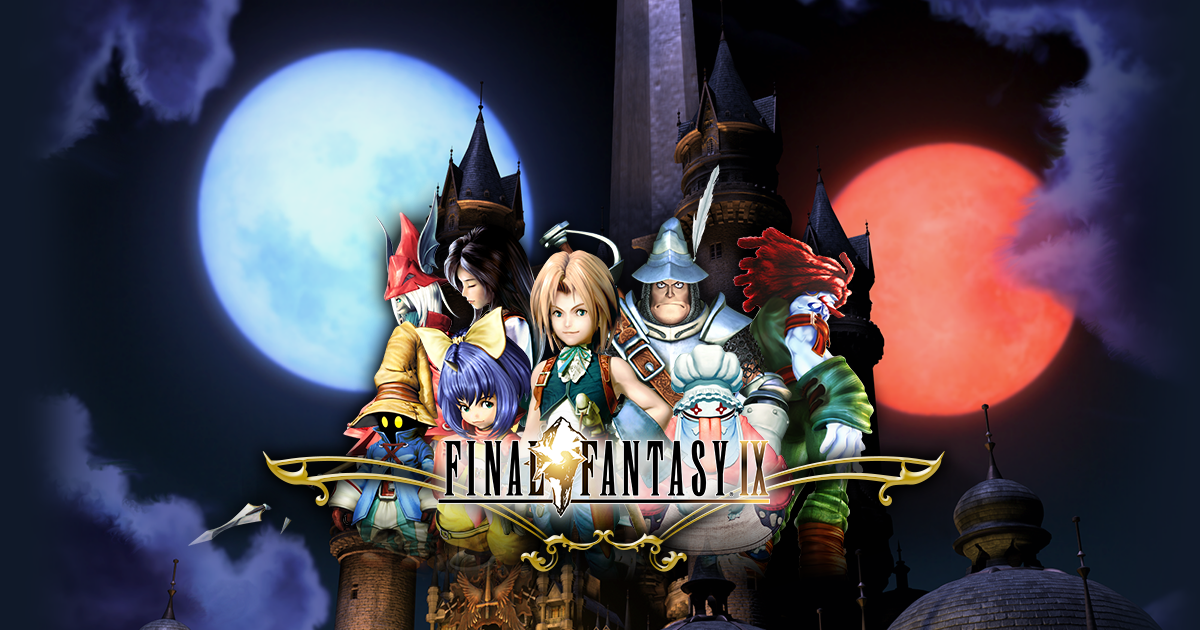 Final Fantasy IX is out on the Switch today