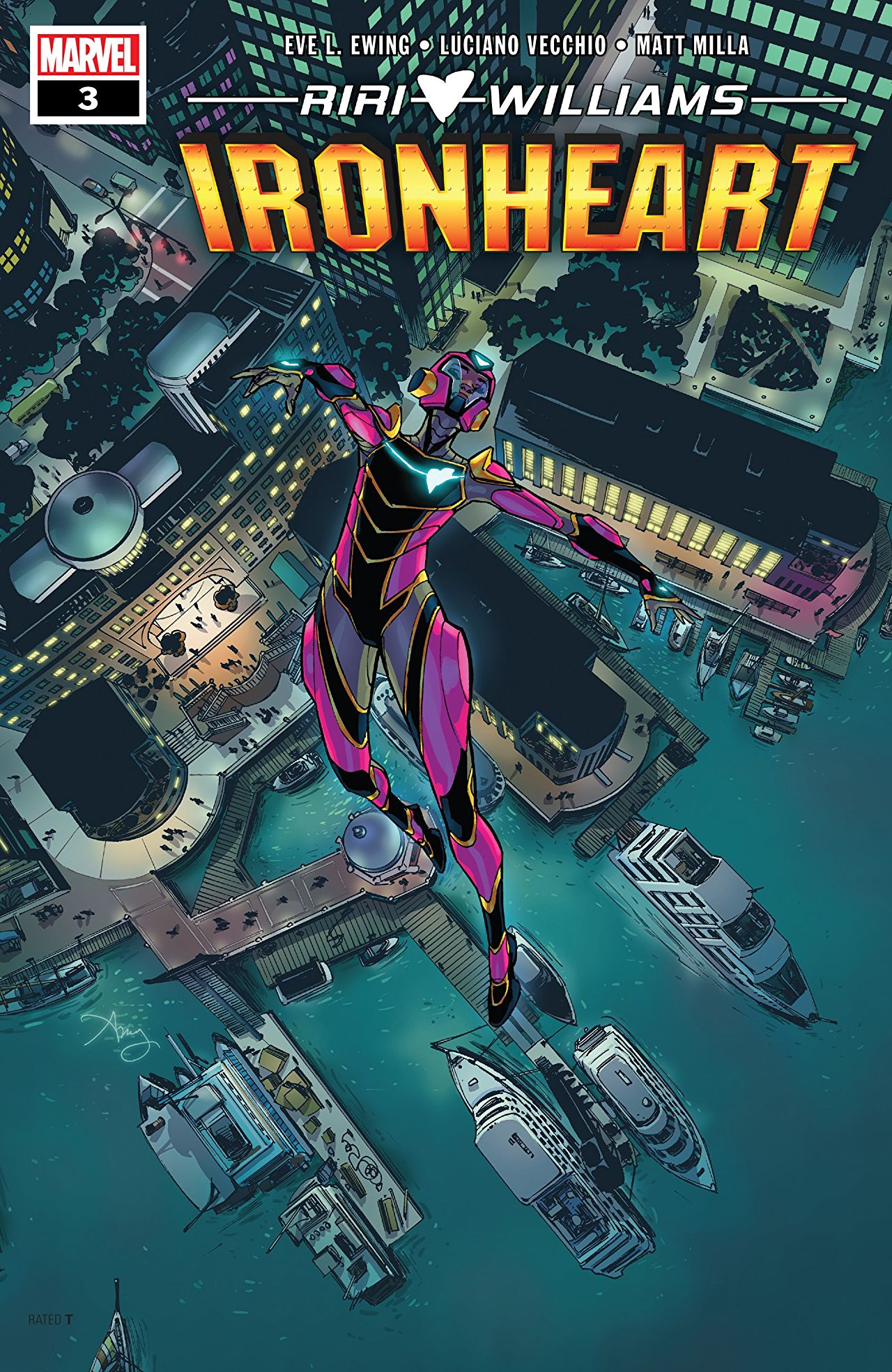 Marvel Preview: Ironheart (2018-) #3