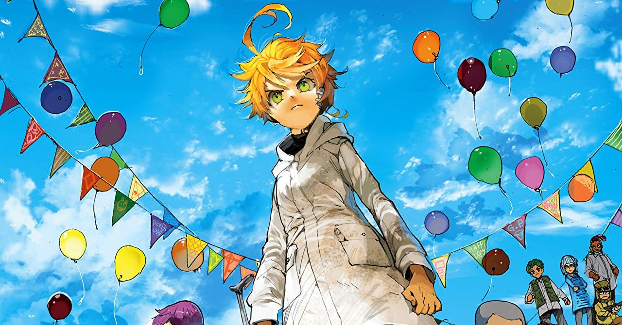 There's a new volume of The Promised Neverland out this week, and boy is it jam-packed. We're firmly entrenched in the Goldy Pond arc now with new lore, major revelations about main characters, and human-on-demon combat abound. Does this volume expand upon the series' mythos effectively? How exciting is the action? Is The Promised Neverland Vol. 9 good?