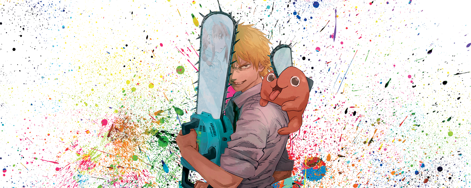 Denji and co. find themselves stuck in space and time in Chainsaw Man.