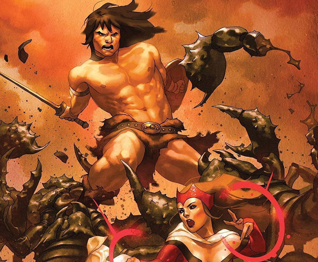 The Avengers...featuring Conan the Barbarian!