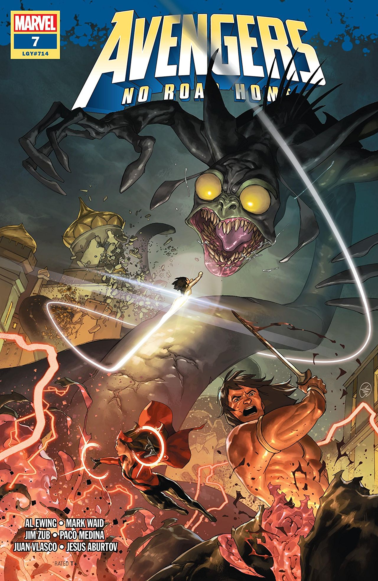 Marvel Preview: Avengers: No Road Home #7