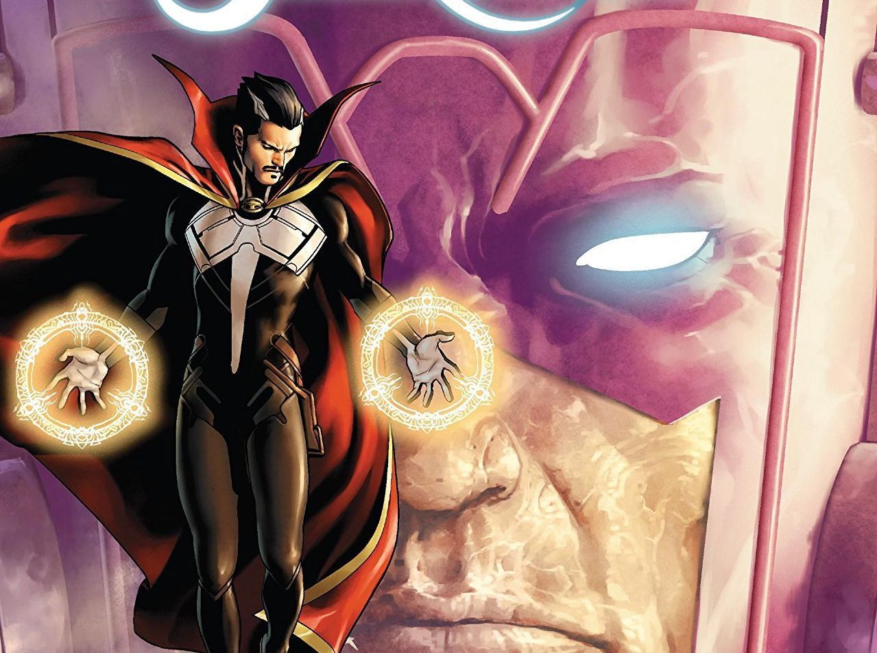 Hard to Swallow: Galactus' next meal is far worse than eating Earth in 'Doctor Strange' #12