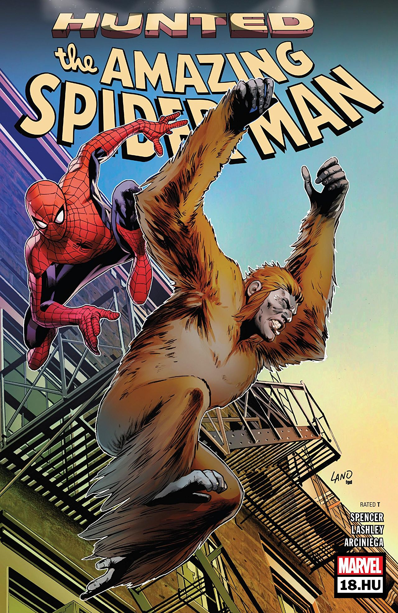 Marvel Preview: Amazing Spider-Man #18.HU