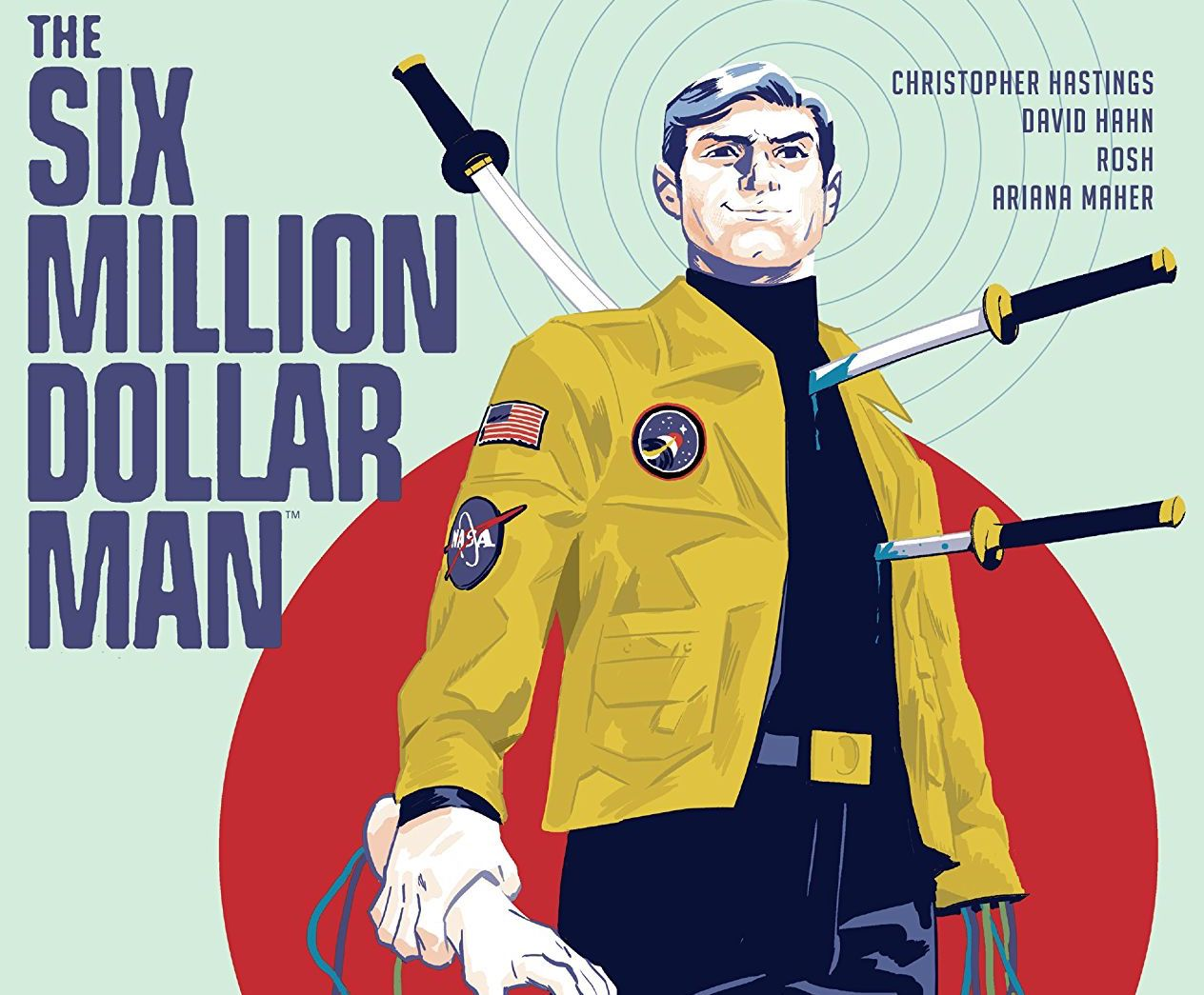 The Six Million Dollar Man #1 Review