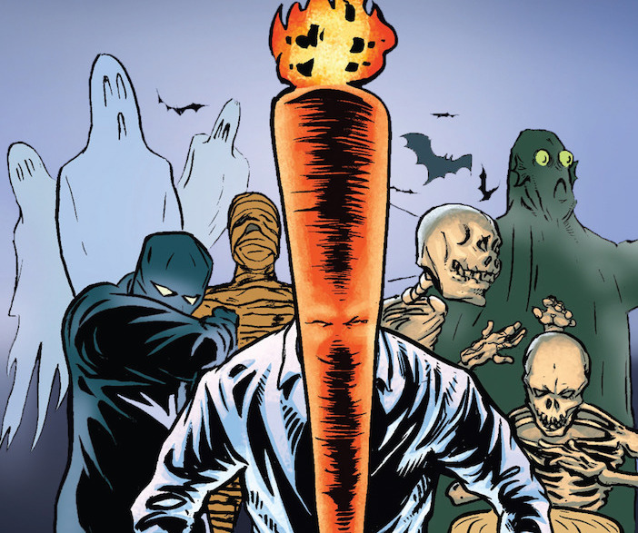 Flaming Carrot returns to Dark Horse with new omnibus collection