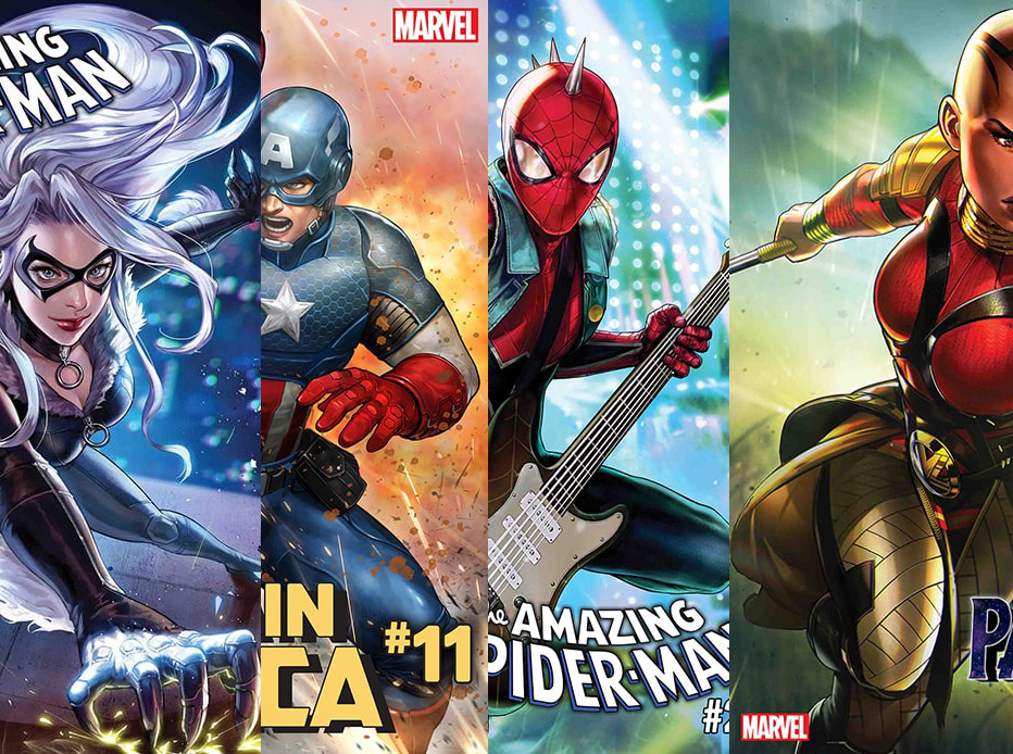 First Look: Marvel Comics scratches that nostalgic itch with collectible card covers