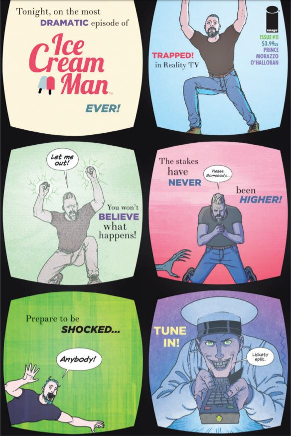 Ice Cream Man #11 review: Torment on live TV!