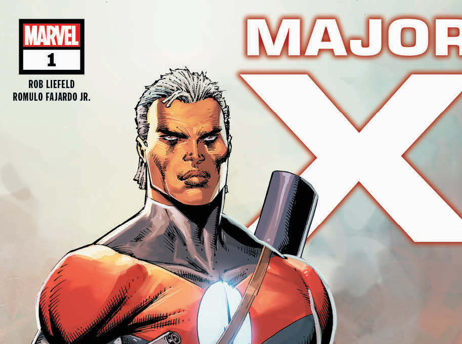 Rob Liefeld's Major X sells out and goes to second printing