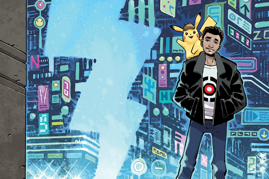 Legendary Comics announces Detective Pikachu companion graphic novel