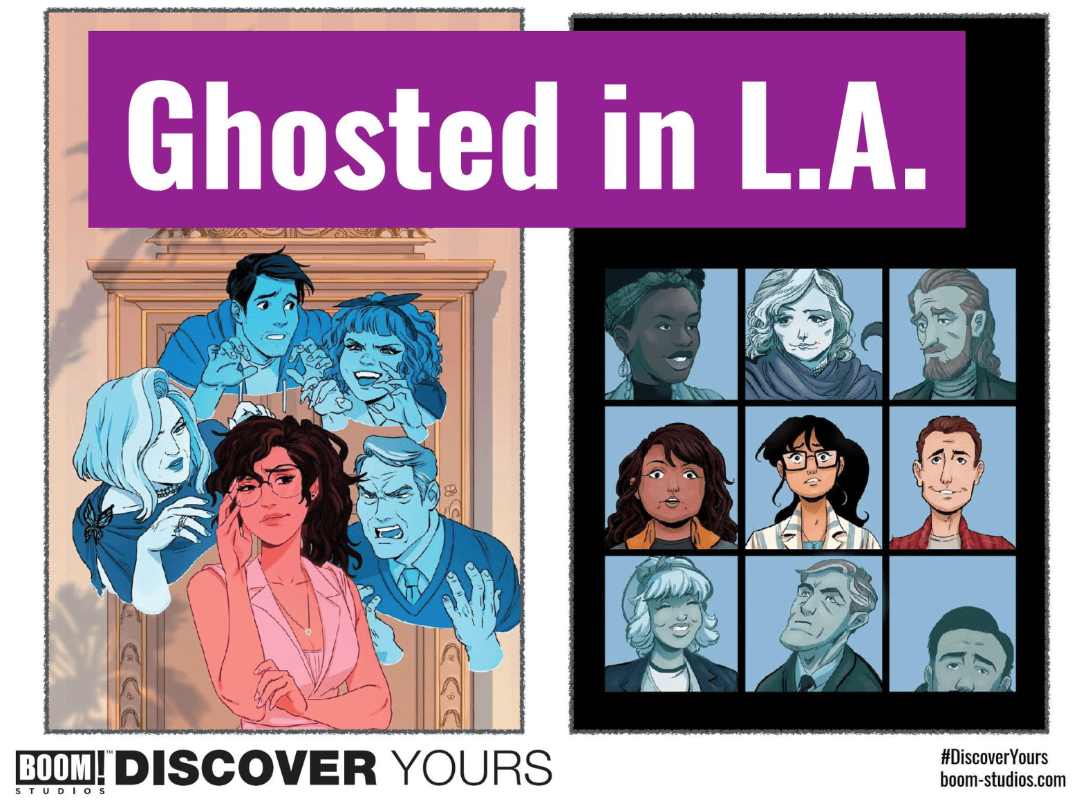 WonderCon 2019: Sina Grace debuting new original series 'Ghosted in LA' this July