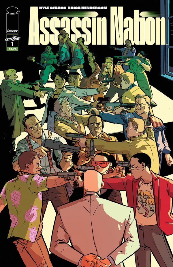 Assassin Nation #1 Review: First issue misfire