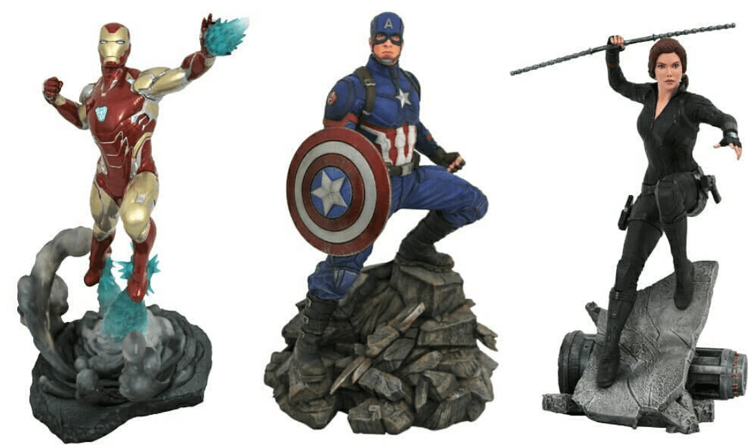 Do these Avengers: Endgame toys reveal intriguing spoilers from the film?