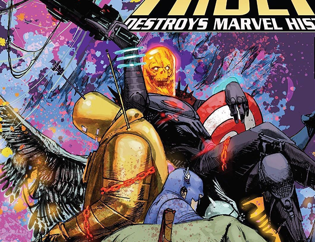 Cosmic Ghost Rider Destroys Marvel History TPB Review