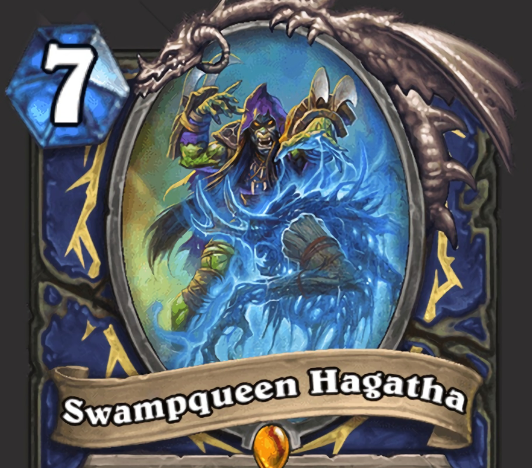 Shaman Legendary Hagatha the Witch is back with an awesome new Battlecry.