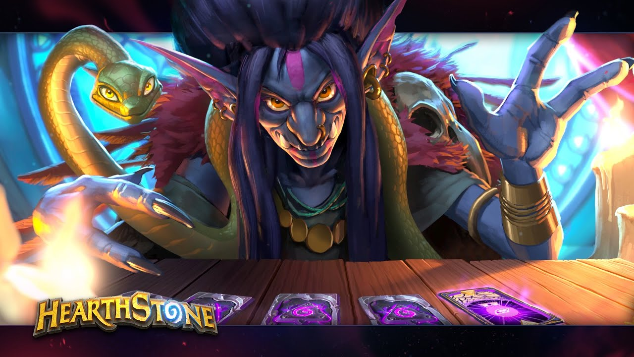 Hearthstone: Rise of Shadows: Madame Lazul, new Priest Legendary minion revealed