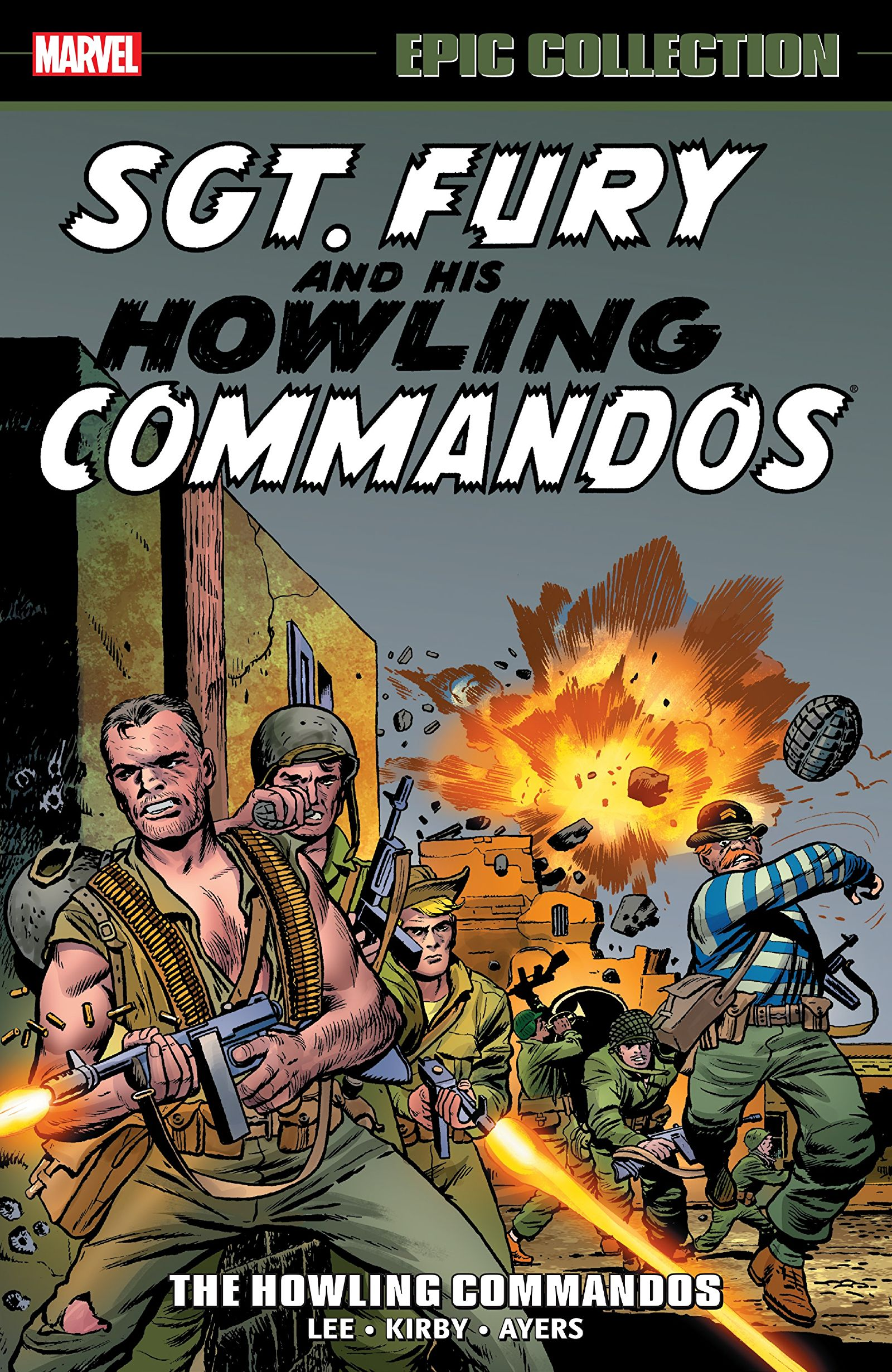 'Sgt. Fury Epic Collection: The Howling Commandos' TPB Review
