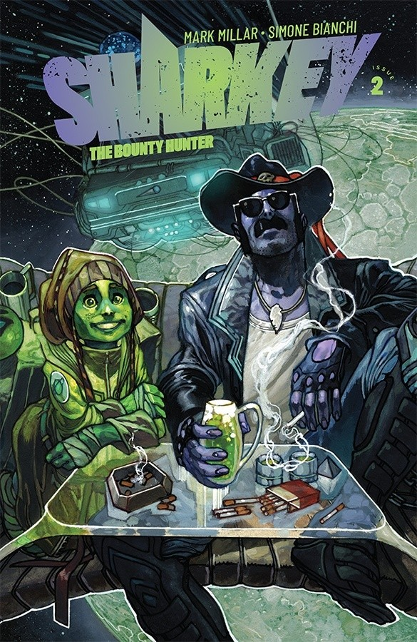 Sharkey the Bounty Hunter #2 Review: Prey for a day