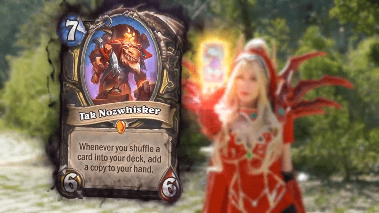 The Rogue class gets another powerful new Legendary in Rise of Shadows: Tak Nozwhisker.