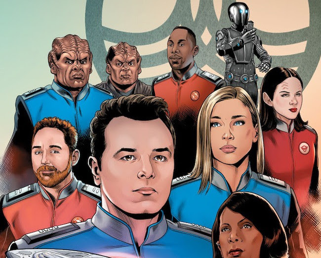 ECCC 2019: Join the crew of the Orville as they take on all new adventures.