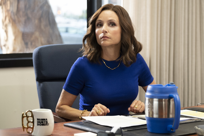 Veep Season 7 Episode 1 (Final Season): 'Iowa'