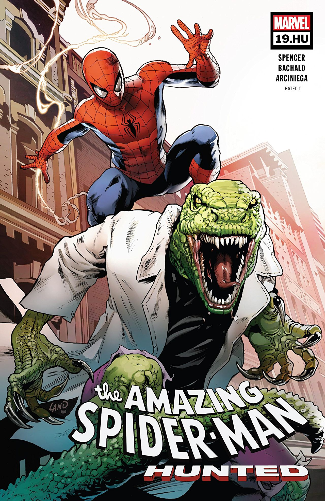 Marvel Preview: Amazing Spider-Man #19.HU
