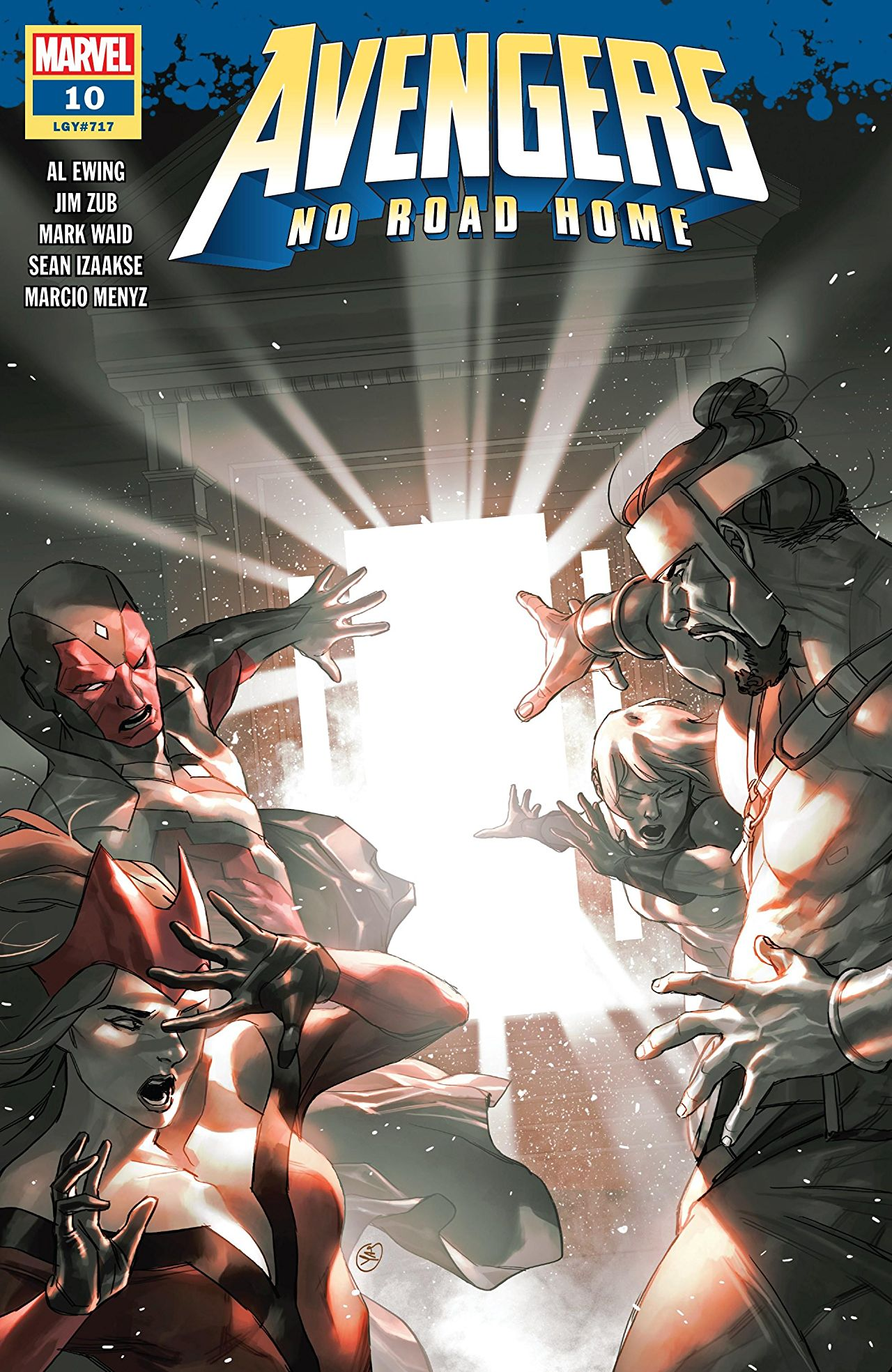 Marvel Preview: Avengers: No Road Home #10