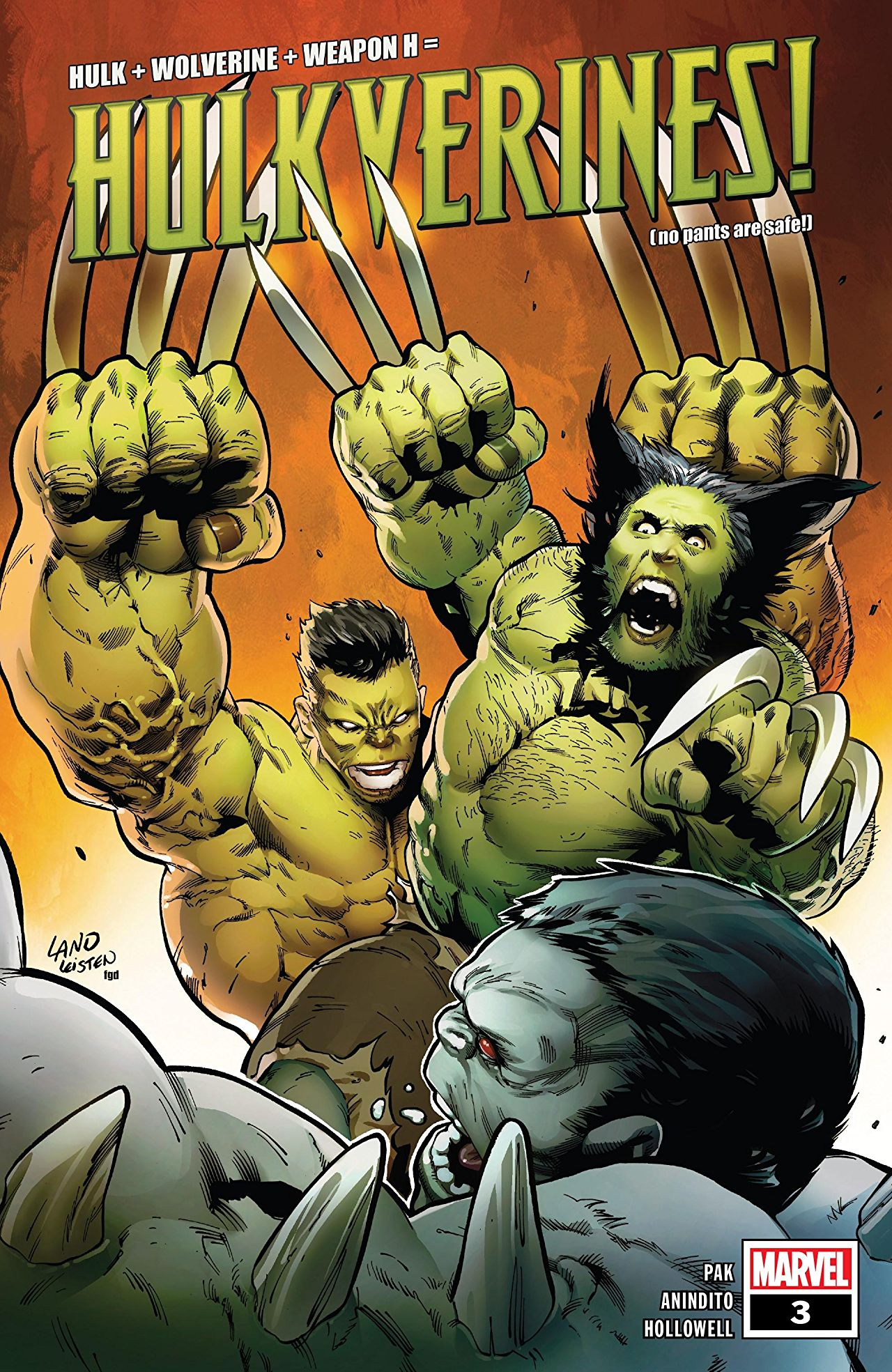 Marvel Preview: Hulkverines #3