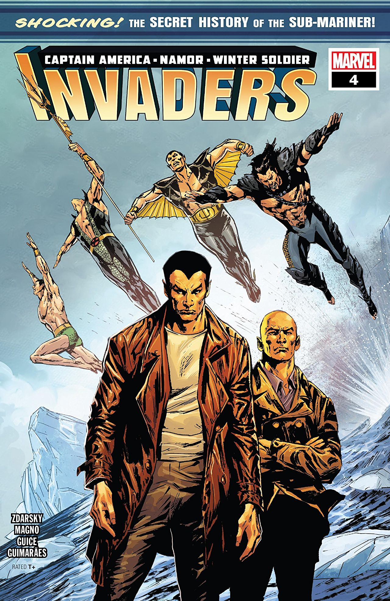 Marvel Preview: Invaders #4
