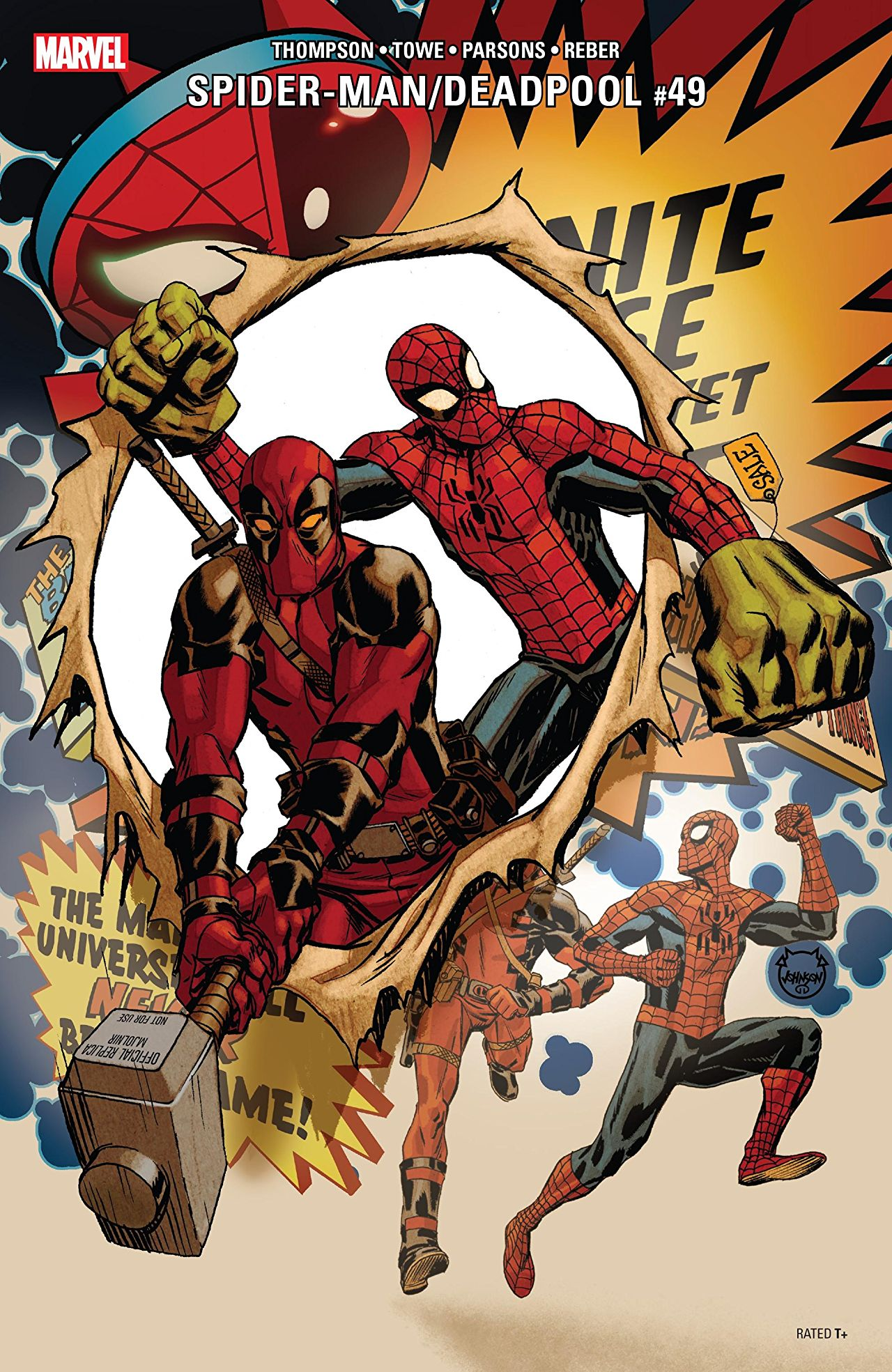 Marvel Preview: Spider-Man/Deadpool #49