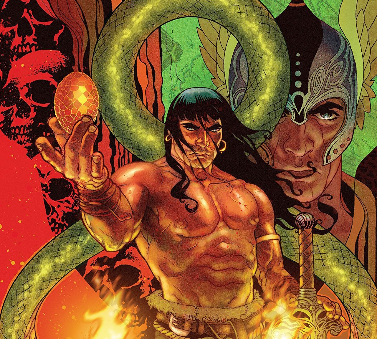 Get a taste of every type of Conan the Barbarian available!