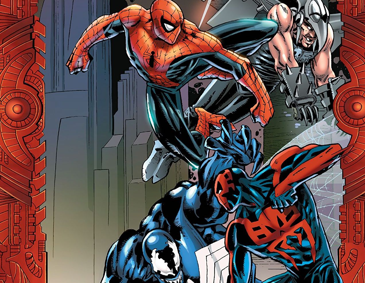 3 reasons why 'Spider-Man 2099 vs. Venom 2099' is so good it needs a redux