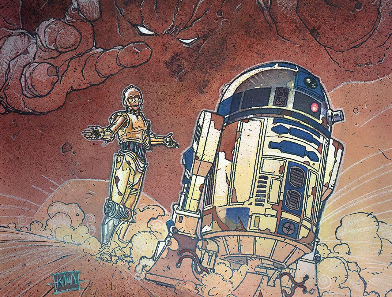 A must-read for Star Wars droid fans.