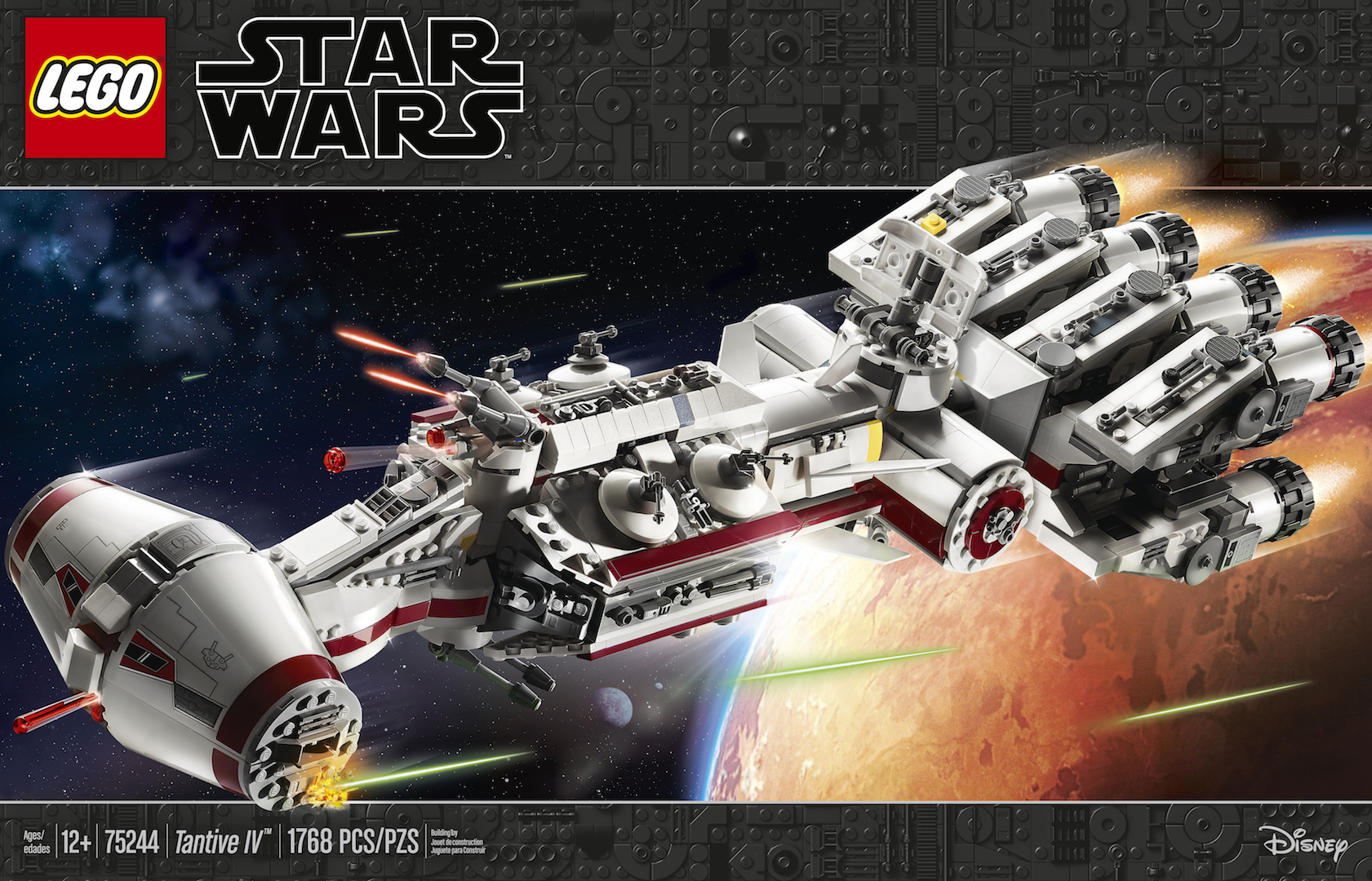 Star Wars Celebration First Look: LEGO Star Wars Rebel Tantive IV ship