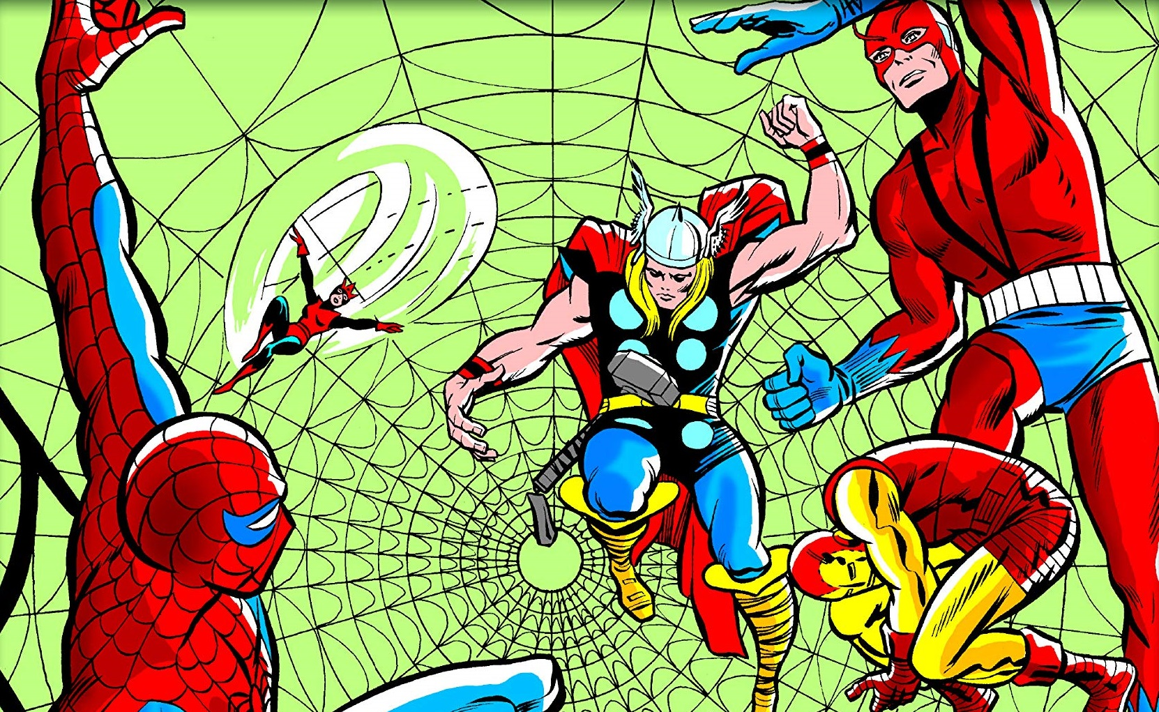 'Spider-Man Meets The Marvel Universe' is both fun and flummoxing.