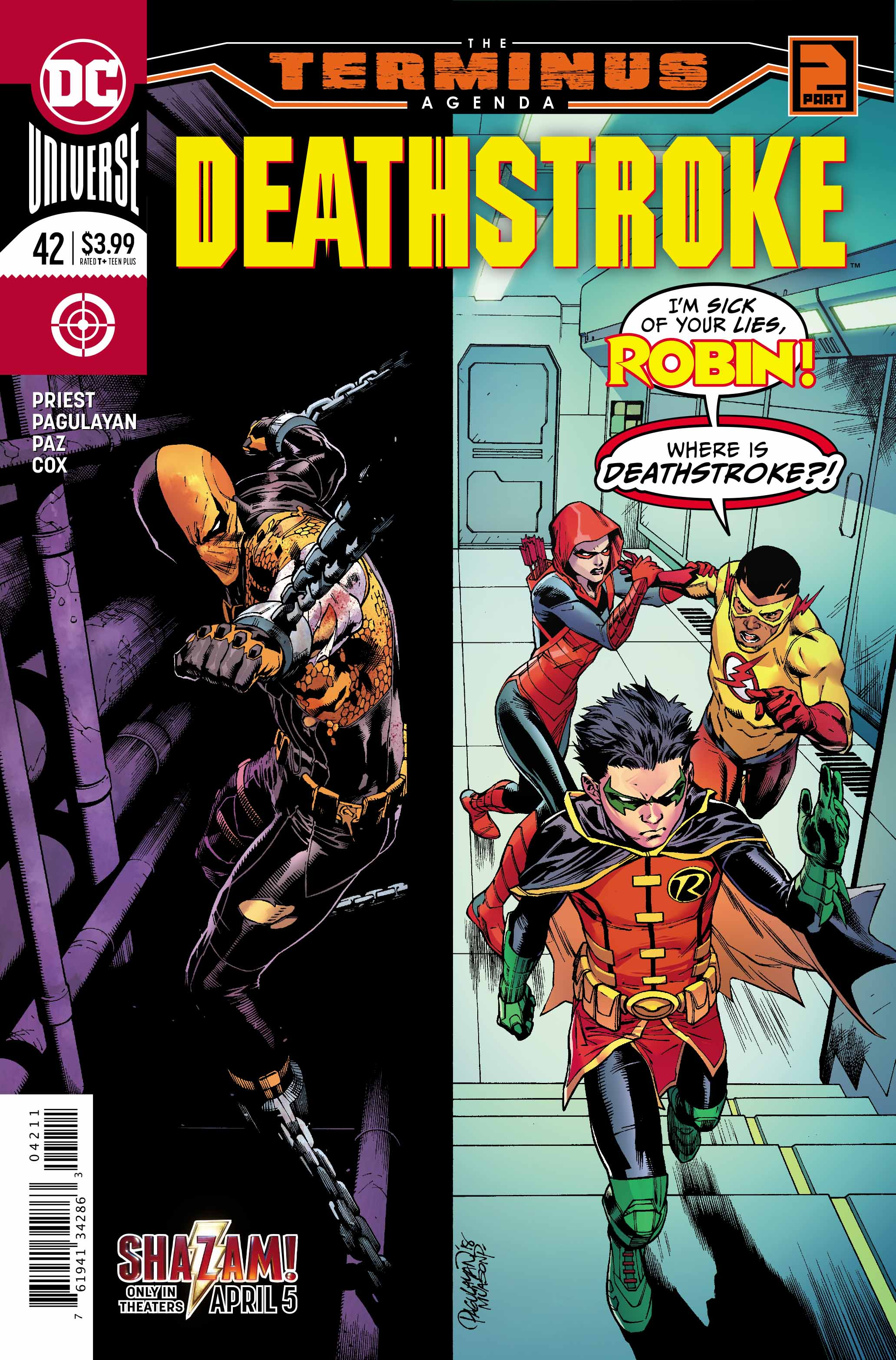 Deathstroke #42 Review