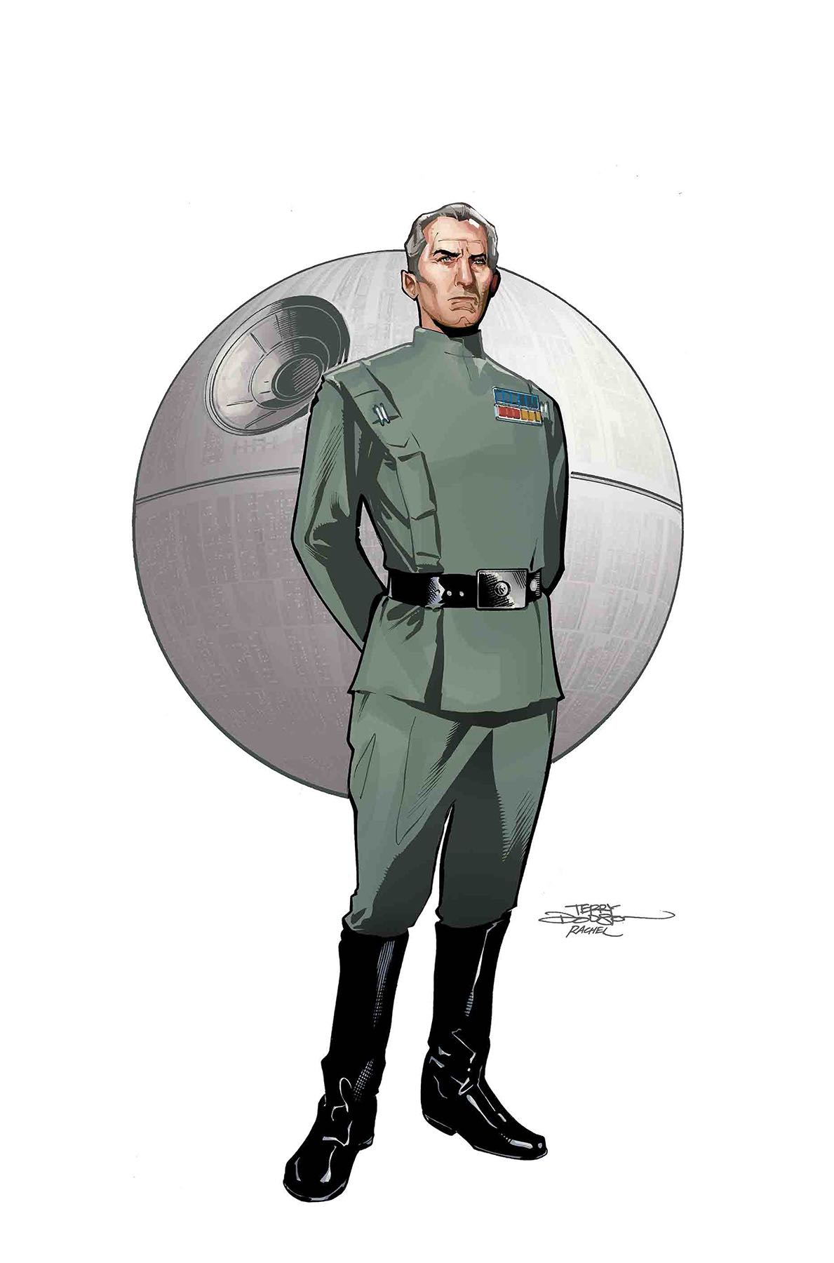 Marvel Preview: Star Wars: Age Of Rebellion - Grand Moff Tarkin #1
