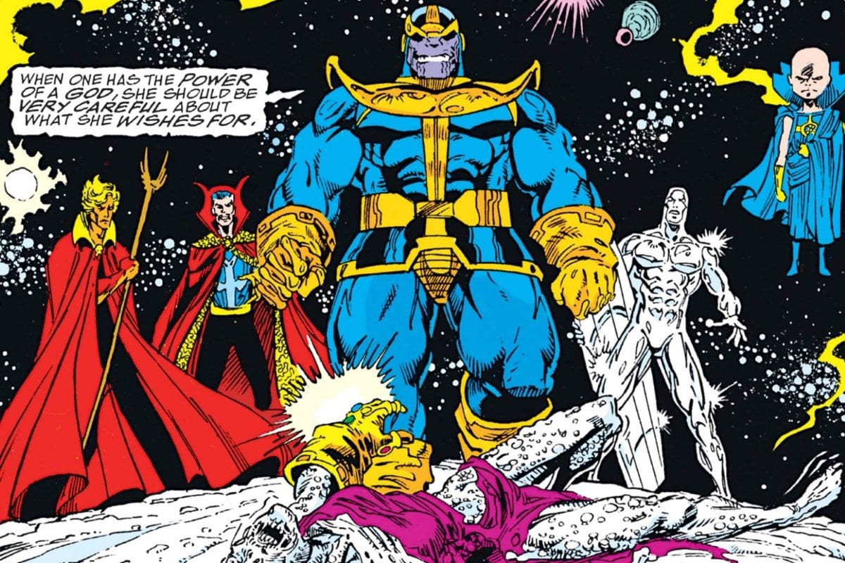 Adventures in Movies! Episode 13: 'The Infinity Gauntlet' vs MCU