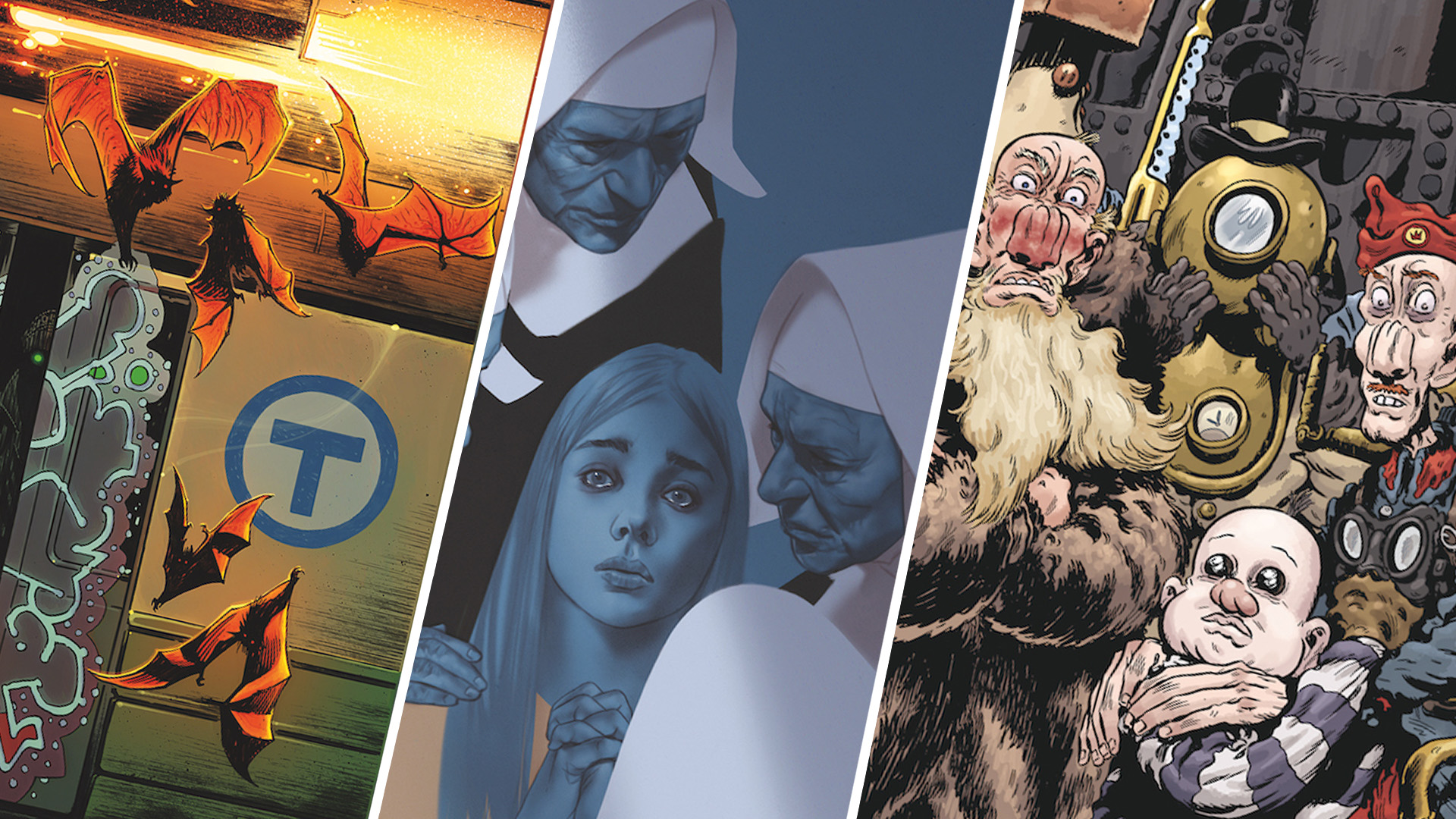 EXCLUSIVE Dark Horse Solicits: Sword Daughter, Last Stop on the Red Line, and Trout