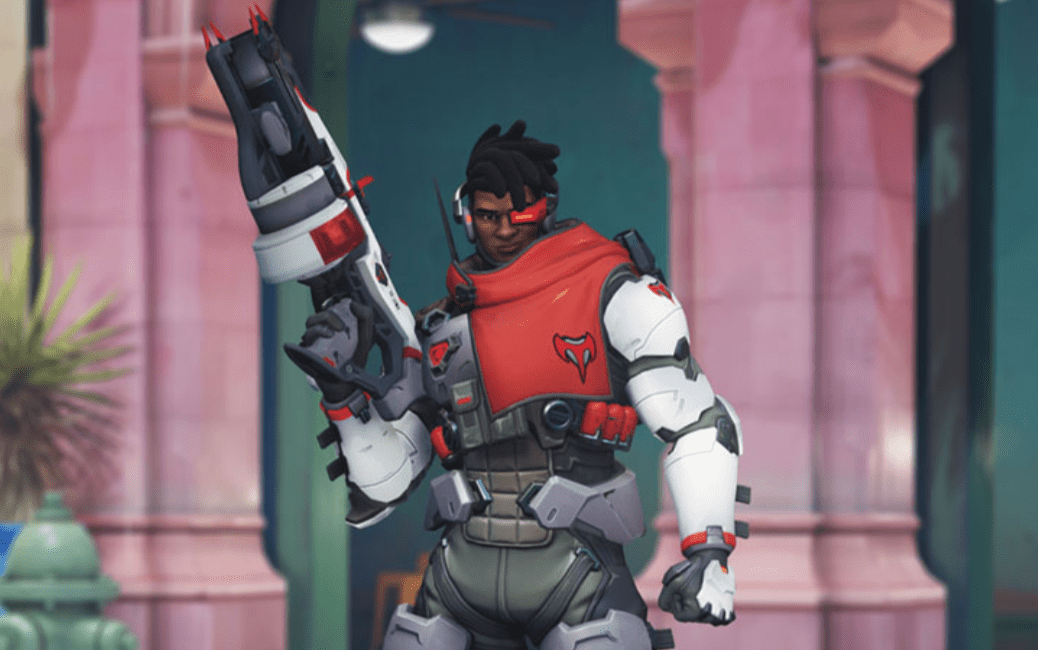 Overwatch's first Storm Rising skin is for Baptiste