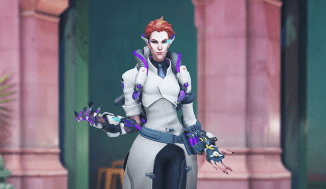 Scientist Moira revealed as new skin for Overwatch Storm Rising event