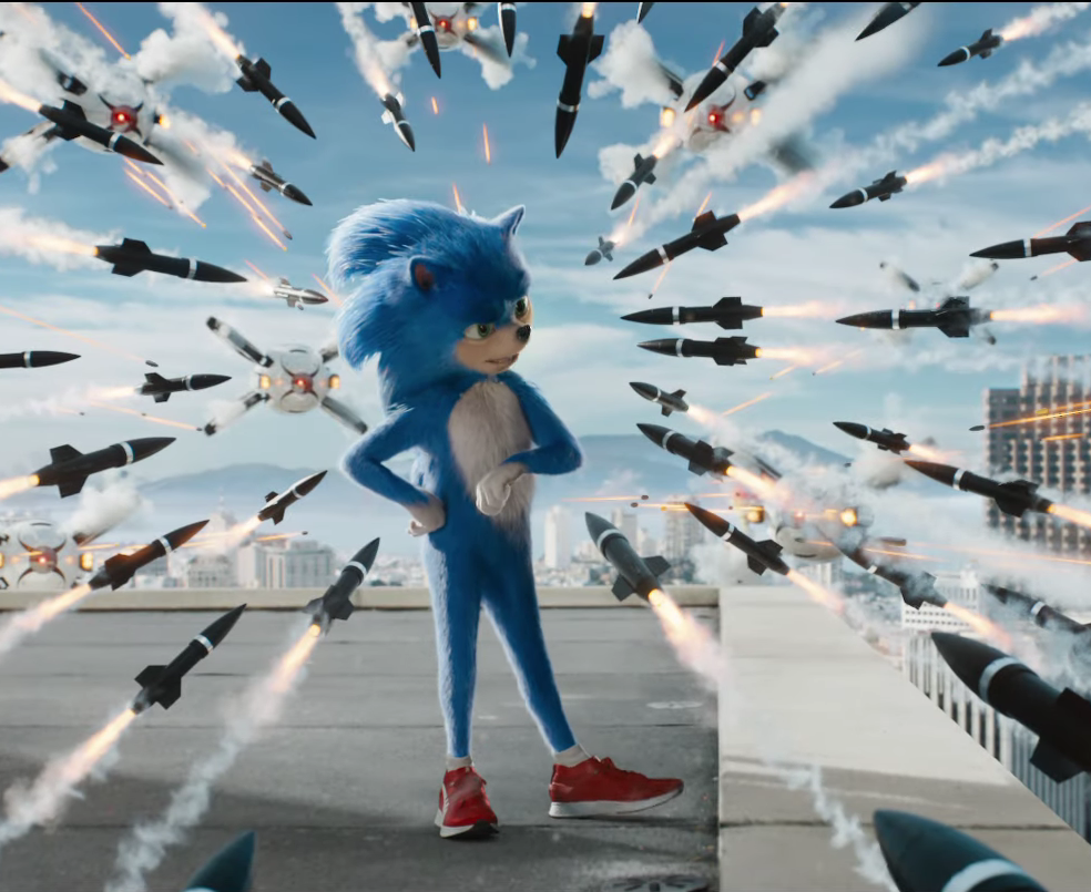 First Look: Sonic the Hedgehog features James Marsden, Jim Carrey, and our favorite blue speedster