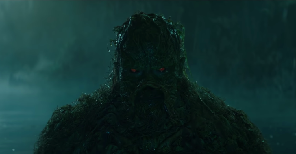 Experience horror with DC Universe's new 'Swamp Thing' trailer