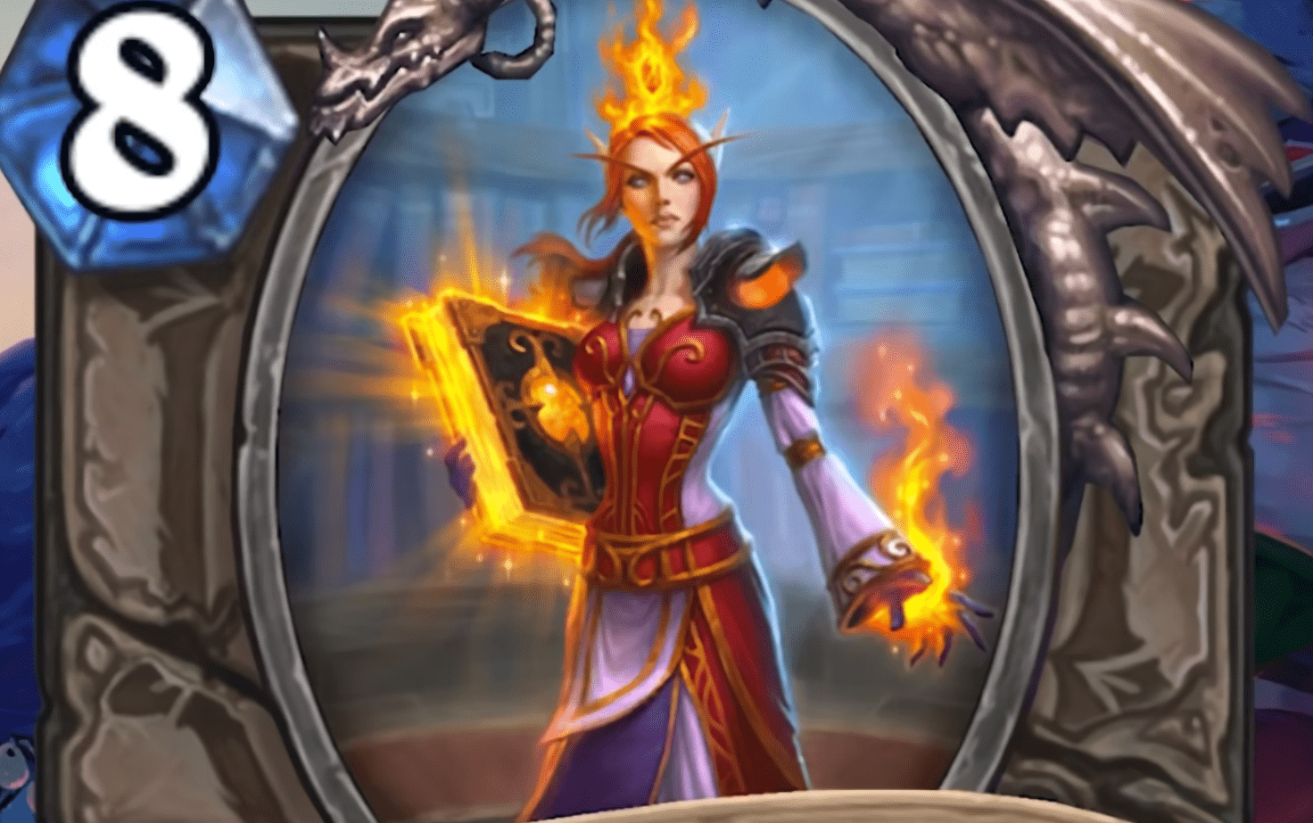 Hearthstone: Rise of Shadows: Arcanist Elysiana, new Legendary minion revealed