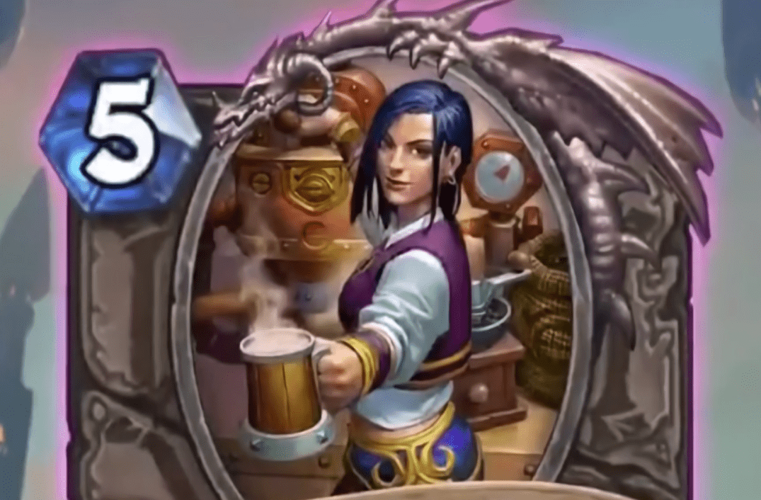 Hearthstone: Rise of Shadows: Barista Lynchen, new Legendary minion revealed