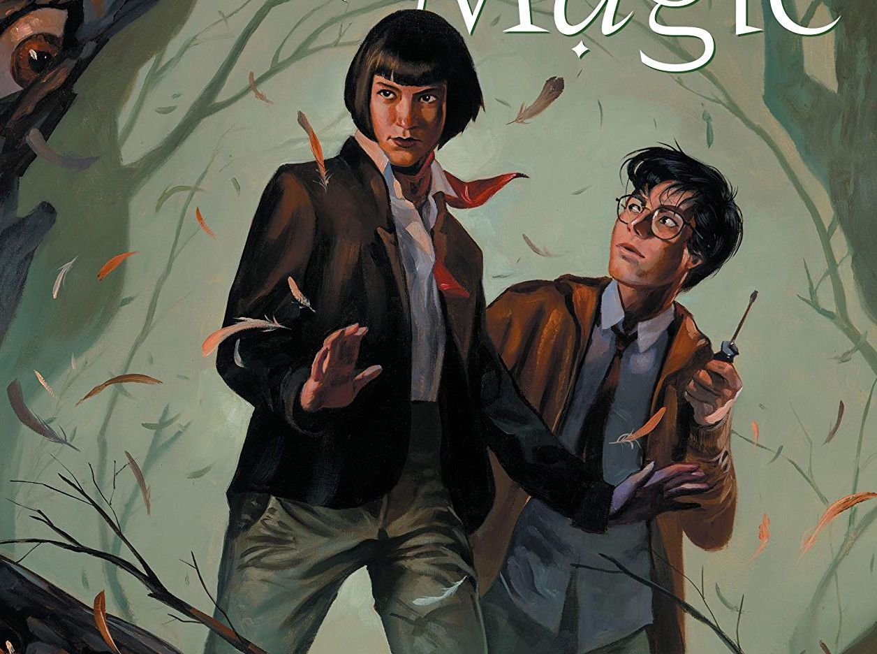 Books of Magic #7 review: Over the river and through the worlds